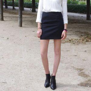 Comptoir des Cotonniers -Satika Wool Skirt (NEW)